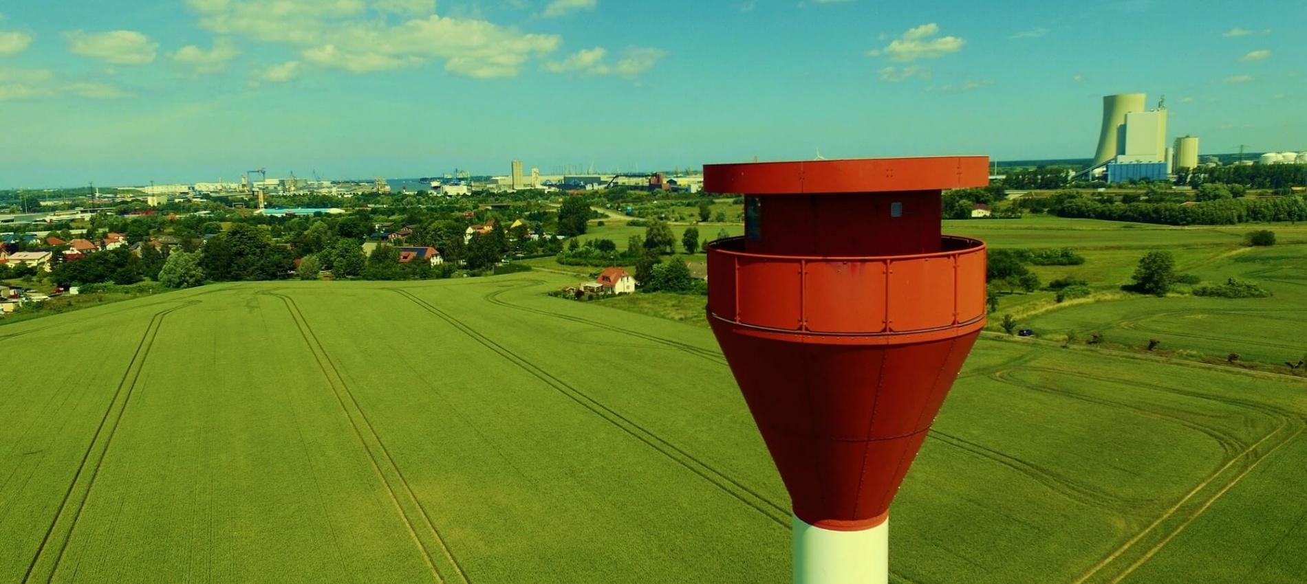 Luftbild Oberfeuer Signal Krummendorf