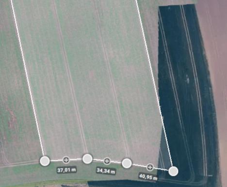 Kartierung von landwirtschaftlichen Freiflächen